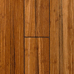Raleigh Strand Distressed Wide Plank Solid Bamboo Flooring - Lifetime Warranty